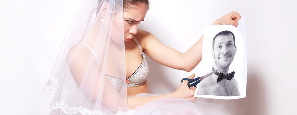 Die Scheidung ist für eine Frau nichts schönes - eine Fahrt zur Scheidung mit der Limo aber auf jeden Fall