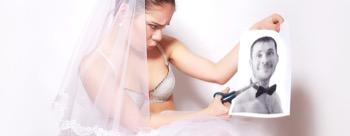 Scheidung Frau